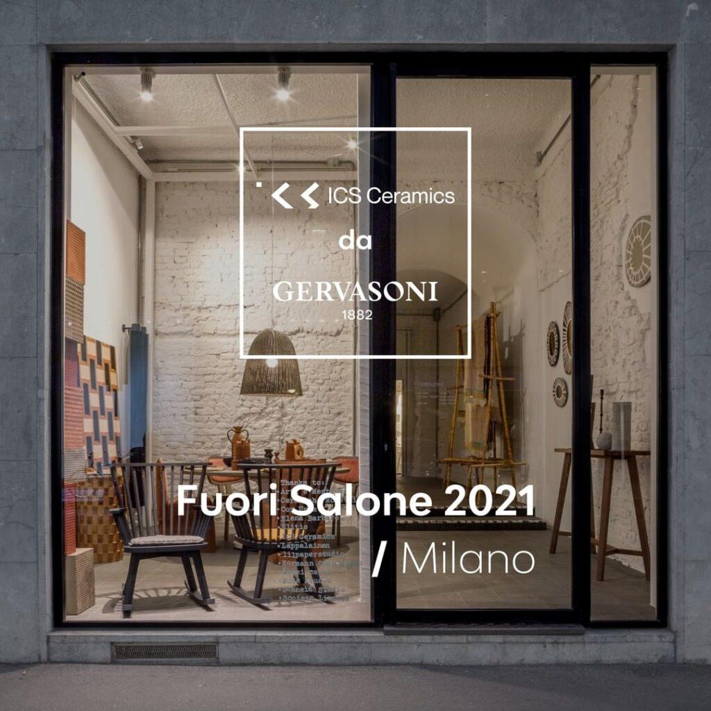 Milano Design Week 2021 - ICS Ceramics quest'anno è da Gervasoni 1882